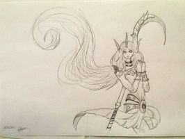 Soraka the Starchild by SighsOnWindyDays