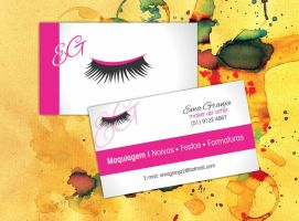Ema Granja Business Card by fullvocal