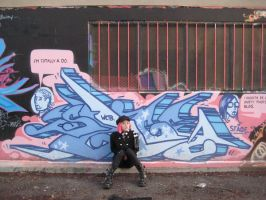 Graffiti Goth 03 by willconquers-stock