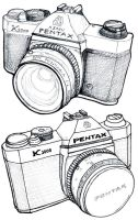 Pentax Cam Illustrations by tursiart