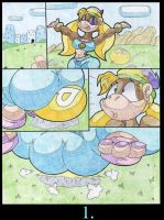 Tiny Kong And The P-Balloon. P1. by Virus-20