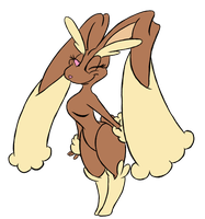428 - Lopunny by Winter-Freak
