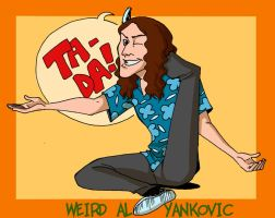 Weird Al: Ta-daaaa by Crispy-Gypsy