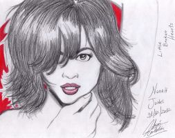NORAH JONES by rolthomaster