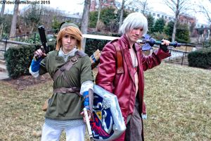 Katsucon 2015 - Zelda May Cry(PS) 05 by VideoGameStupid