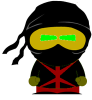 Ermac at South Park by RedMidnyte