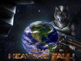 Heavens Fall Cover Issue 1 by ShaneTheWolf
