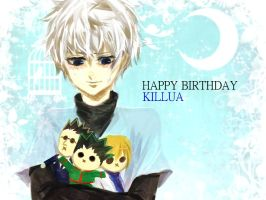 Killua Happy birthday by nososo