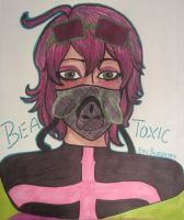 Adopt Payment 1/12: Bea Toxic Headshot by EpicBurritos