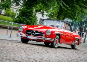 Mercedes-Benz 300 SL Roadster by OliverBPhotography