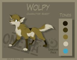 Wolpy - Character Sheet by Skailla