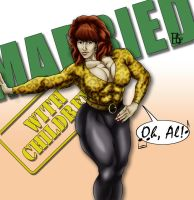 Buff Peggy Bundy by DonElliottoCorleone