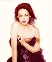 Kristen Stewart - Colorization by Flawless-Resources