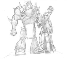 Elric Brothers by arq341