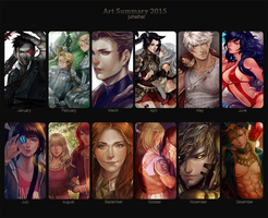 Art Summary 2015 by juhaihai