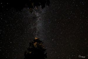 Milky Way Above Flathead by Dugwin