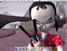 Code Lyoko Desktop by Annahly