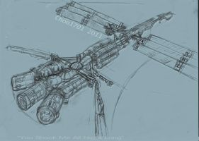 Space Vessel Sketch by Choo1701