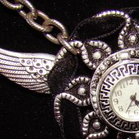 Flying Pocketwatch Necklace by SteamSociety