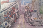 Daily Sketch 26- Amazing Spider-Man 2 by TheAlienBanana