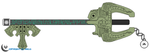 Twilight Princess Keyblade by Arkus0