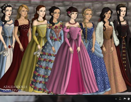 Once Upon A Time ~ Ladies by WillowTreeWitch