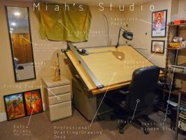 Miah's Studio 2 of 6 by JeremiahLambertArt