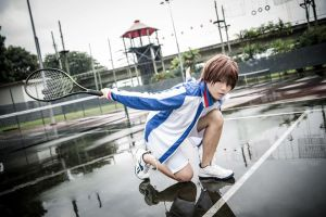 Higuma Otoshi in the Rain =D by kairinx