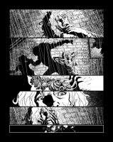 Casefile: Arkham pg 5 - a messy end by PatrickMcEvoy