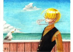 Sanji Bird by AnimeGirlMika