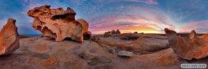Remarkable Rocks Kangaroo Is by neilcreek