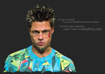 Tyler Durden by KM-Artwork