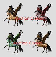 Four flyers points auction by moondragonwings