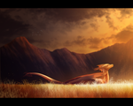 Through the Fields of Gold by Fourth-Star