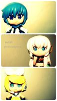 . Chibi Vocaloids . by sweet-photographer