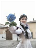 Blue Rose by LunaeLunetta
