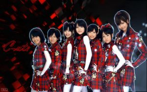 C-ute Red by NEO-Musume
