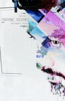 Maybe Bomb - album release show poster by jimpenola