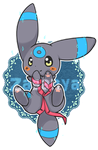 Shiny Umbreon by Starl