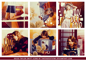 Taylor Swift Icons by TheEdgeOfDemi