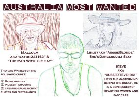 Australia's Most Wanted by VisualPoetress