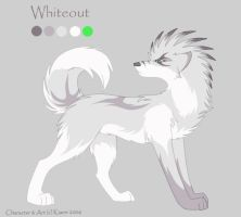CharSheet 16- Whiteout by Kiarei-star