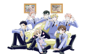 Transparent Ouran Highschool Host Club by JordanAlice
