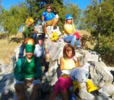 Digimon Adventure by AsleepPanther