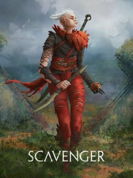 Scavenger character design by dominuself
