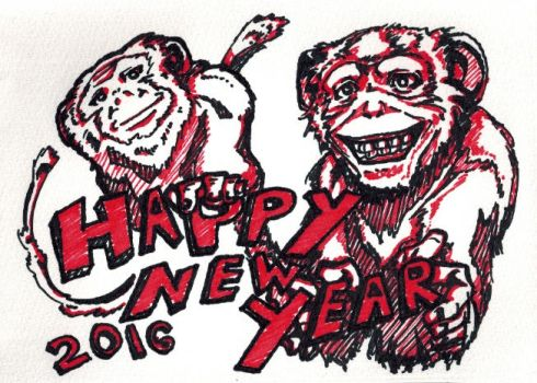 Happy New Years 2016 by HTanimation