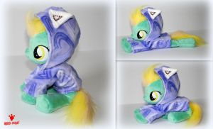 My Little Pony - Lightening Dust with Hoodie Plush by Lavim