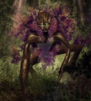 Tree spirit ... speed paint by RavenseyeTravisLacey