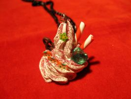 Whipped cream necklace1 by StregattaPuponzi
