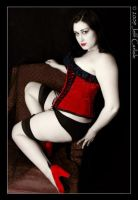 Red Shoe Pinup 2 by yummyphroot